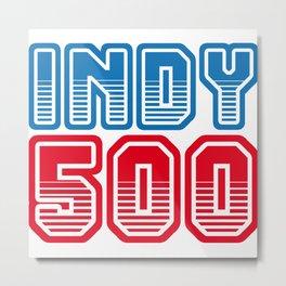 INDY 500 Metal Print