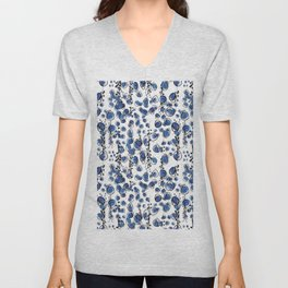 Blu Grapes Unisex V-Neck