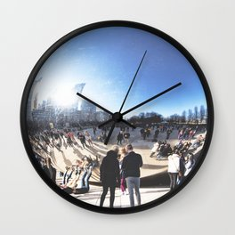 Chicago in Spring, March 22nd-24th, 2019. XXXIV Wall Clock