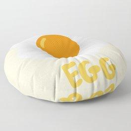 Egg orange Floor Pillow