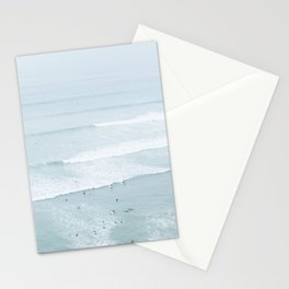 Tiny Surfers from the Sky, Lima, Peru Stationery Cards