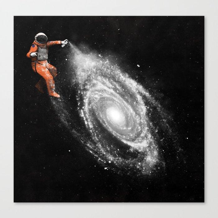Space Art Canvas Print