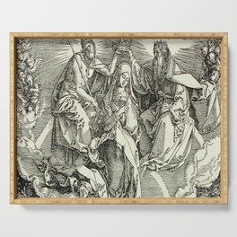 Durer – the assumption of Mary Serving Tray