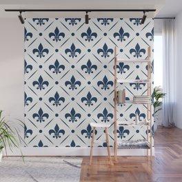 Fleur De Lis pattern Wall Mural