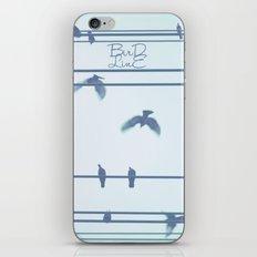 Bird Line iPhone & iPod Skin