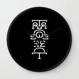 Transparent (Totem) Wall Clock