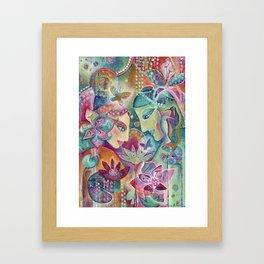 Divine Union by Justine Aldersey-Williams Framed Art Print