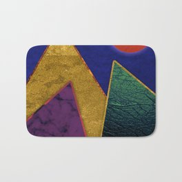 Abstract #424 Bath Mat