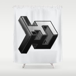 Projectile Shower Curtain