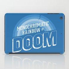 Rainbow of DOOM iPad Case