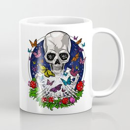 Psychedelic Skull Trip Coffee Mug