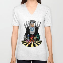 Power Rabbis Unisex V-Neck