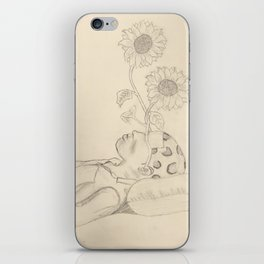Tyler The Creator - Flower Boy - Drawing iPhone Skin