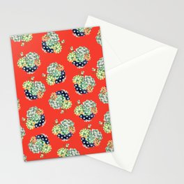 Plant Cactus Stationery Cards