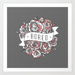 bored I Art Print
