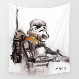 Sand Trooper Wall Tapestry