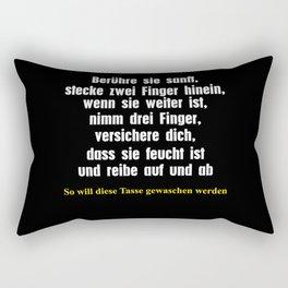 versauter Witz für Tassen lustig Rectangular Pillow