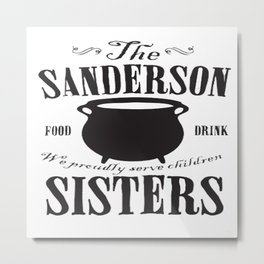 The Sanderson Sisters Metal Print