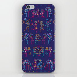 Indian Wedding Celebration iPhone Skin