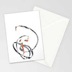 just dancing Stationery Cards