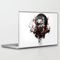 metal gear solid Laptop & iPad Skins featuring Metal Gear Solid V: The Phantom Pain by ururuty