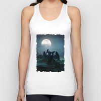 targaryen Tank Tops featuring TOOTHLESS halloween by kattie flynn