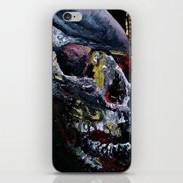 Society Skull iPhone Skin