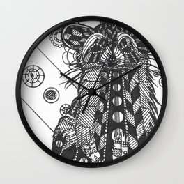 Raccon Wall Clock