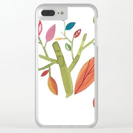 Autumn 2 Clear iPhone Case