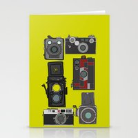 cameras Stationery Cards featuring Cameras by Illustrated by Jenny