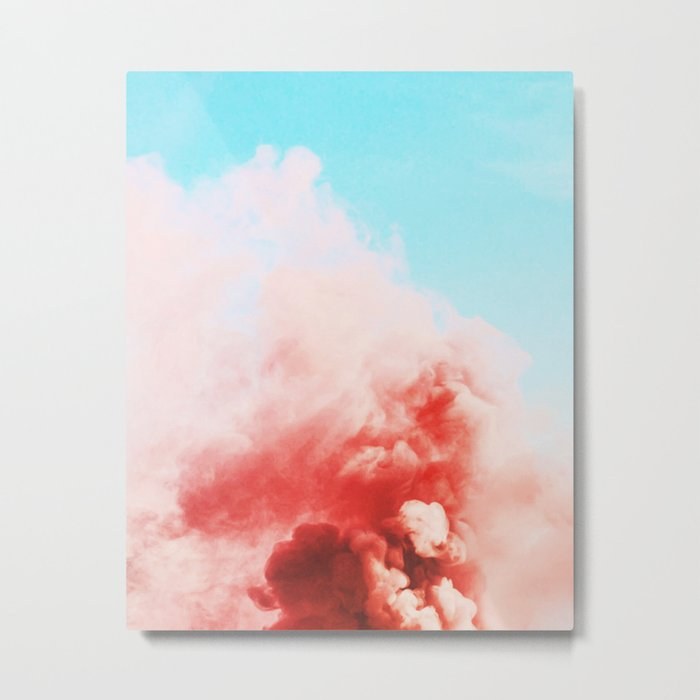 Candy Smoke #society6 #decor #buyart Metal Print