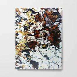 Topographical Metal Print