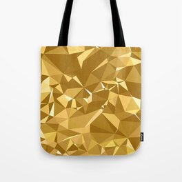 Gold Triangles Tote Bag