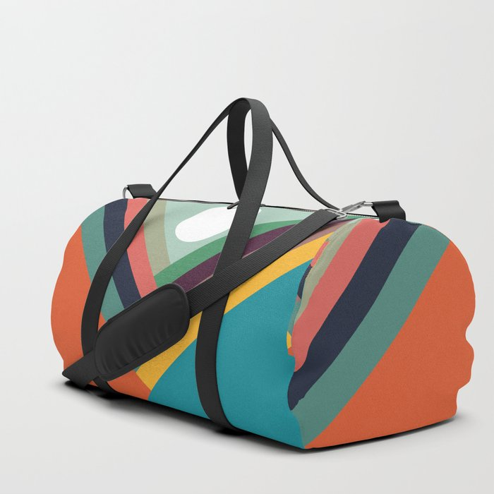Rows of valleys Duffle Bag