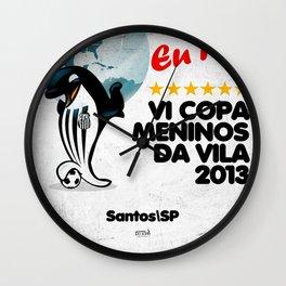 VI Copa Meninos da Vila - Eu Fui! Wall Clock
