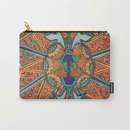 GEOMETRIC MOSAIC Carry-All Pouch