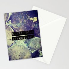 Start Your Adventure Stationery Cards