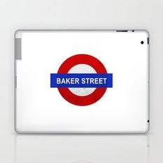 Sherlock Baker Street Print Laptop & iPad Skin