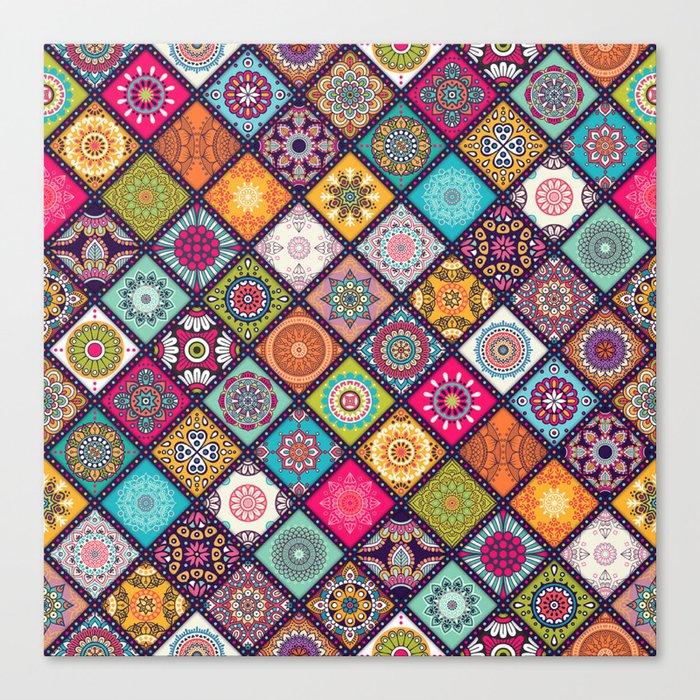 Pattern motif Canvas Print