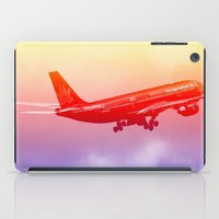 vietnam iPad Cases featuring VIETNAM AIRLINES by Anile McLean