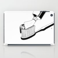 good morning iPad Cases featuring Good Morning by Henn Kim