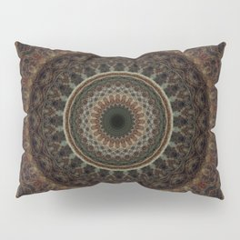 Mandala in brown tones Pillow Sham