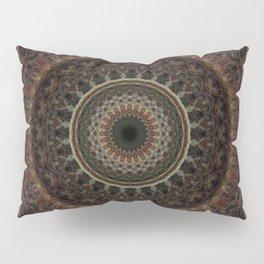 Mandala in brown tones Pillow Sham