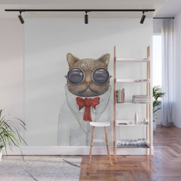Astro Cat Wall Mural