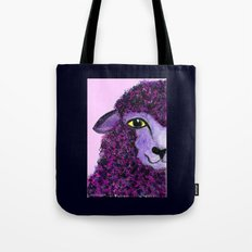 Purple Sheep Tote Bag