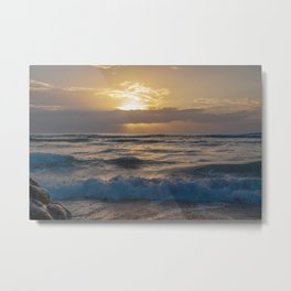 fluffy silky waves Metal Print