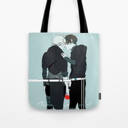 Kiss and Hold Hands Tote Bag