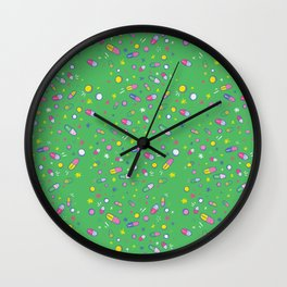 Happy & Chill Pills Wall Clock