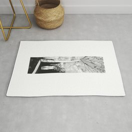 Abstract Autumn Drawing Rug