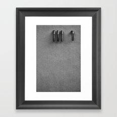 The Claw Framed Art Print